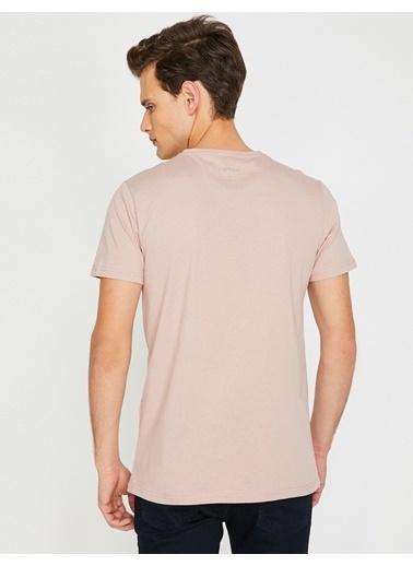 Koton Baskılı Tişört Pembe